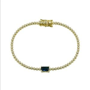 The M Jewelers Colored Stone Tennis Bracelet